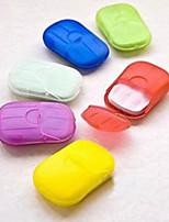 Недорогие -4 шт. / Коробка ванна мытье рук хлопья мыла ароматизированные кусочки листов вспенивания коробки бумаги мыло ручной работы с мылом