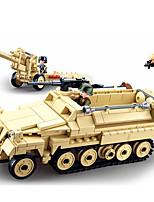 Недорогие -Конструкторы 460 pcs совместимый Legoing трансформируемый Все Игрушки Подарок