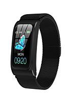 Недорогие -Умный браслет ak12 bt фитнес-трекер поддержка уведомлять / монитор сердечного ритма водонепроницаемый спорт Bluetooth совместимые часы SmartWatch IOS / Android телефоны