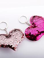 Недорогие -Брелок Сердце корейский Милая Цветной Модные кольца Бижутерия Радужный / Пурпурный / Зеленый Назначение Повседневные