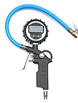 Недорогие -220psi 16bar цифровой шинный манометр тестер воздушный патрубок