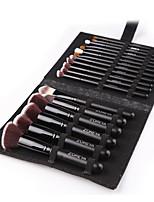 Недорогие -профессиональный Кисти для макияжа 18pcs Мягкость Новый дизайн Cool удобный Деревянные / бамбуковые за Косметическая кисточка