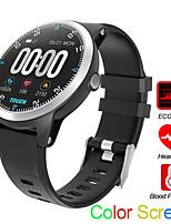 Недорогие -Смарт Часы Цифровой Современный Спортивные силиконовый 30 m Защита от влаги Пульсомер Bluetooth Цифровой На каждый день На открытом воздухе - Черный Красный Синий