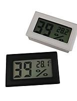 Недорогие -мини цифровой жк-внутренний удобный датчик температуры измеритель влажности термометр гигрометр
