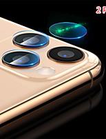 Недорогие -Задняя крышка объектива камеры протектор закаленное стекло пленка для iphone 11/11 pro / 11 pro max / xs max / xr / xs / x / 8plus / 8 / 7plus / 7 / 6plus / 6