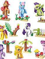 Недорогие -Конструкторы 8 pcs совместимый Legoing трансформируемый Все Игрушки Подарок