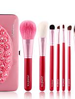 Недорогие -профессиональный Кисти для макияжа 7pcs Очаровательный Мягкость Новый дизайн удобный Деревянные / бамбуковые за Косметическая кисточка