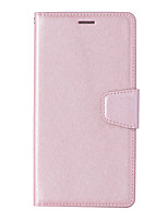 cheap -Case For Nokia Nokia 8 Card Holder Flip Magnetic Full Body Cases Solid Colored PU Leather textured