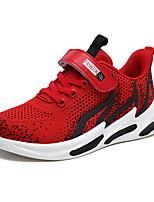 Недорогие -Мальчики Полиуретан Спортивная обувь Большие дети (7 лет +) Удобная обувь Для прогулок Черный / Красный / Синий Осень