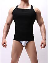Недорогие -Муж. Азиатский размер Сексуальные платья V-образный вырез нижняя рубаха Однотонный