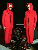 Недорогие -Вдохновлен Косплей Дали Аниме Косплэй костюмы Японский Косплей толстовки трико / Комбинезон-пижама Назначение Муж. / Жен.