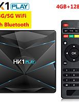 Недорогие -hk1 супер андроид 9.0 умный тв бокс гугл ассистент rk3318 4k 3d utral hd 4g 128g тв wifi магазин игры бесплатные приложения быстрая приставка