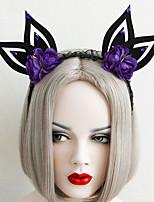 Недорогие -Жен. лакомство Винтаж модный Резина Ткань Железо Хайратники Halloween Для клуба