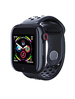 Недорогие -Litbest Z6S Smart Watch BT Поддержка фитнес-трекер уведомить / монитор сердечного ритма Спорт SmartWatch совместимые телефоны Iphone / Samsung / Android