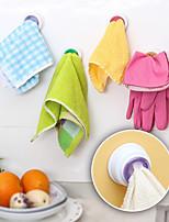 Недорогие -Высокое качество с Пластик Стойка для очистки присоски Для приготовления пищи Посуда Кухня Место хранения 1 pcs