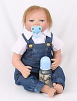 Недорогие -NPK DOLL Куклы реборн Куклы Мальчики Девочки 22 дюймовый Подарок Очаровательный Образование Детские Универсальные Игрушки Подарок