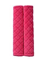 Недорогие -автомобильные ремни безопасности плечи колодки чехлы подушки теплые короткие плюшевые защитные плеча
