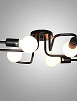 Недорогие -4-Light Свеча-стиль Люстры и лампы Рассеянное освещение Окрашенные отделки Металл Новый дизайн общий Теплый белый / Белый