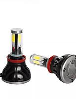 Недорогие -g5 4 стороны 80 Вт 8000lm cob светодиодные фары автомобиля h8 / h9 / h11 9005 9007 880 противотуманные фары 9-36v 6000k 2шт - h8 / h9 / h11