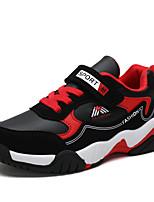 Недорогие -Мальчики Полиуретан Спортивная обувь Большие дети (7 лет +) Удобная обувь Беговая обувь Черный / Красный / Синий Осень / Контрастных цветов