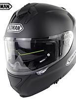 Недорогие -зоман sm961 двойные линзы мотоциклетные шлемы анфас одобрение быстрого доступа пряжка gp racing casco