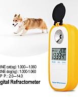 Недорогие -dr503 животное клинический рефрактометр ветеринарная сыворотка человека белок моча рефрактометр мочи домашняя собака кошка тестер удельного веса