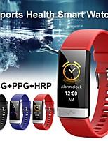 Недорогие -Смарт Часы Цифровой Современный Спортивные силиконовый 30 m Защита от влаги Пульсомер Bluetooth Цифровой На каждый день На открытом воздухе - Черный Синий Красный