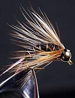 Недорогие -8 pcs Мухи Мухи Octopus Тонущие Bass Форель щука Ловля нахлыстом Обычная рыбалка Металл