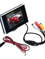 Недорогие -3,5-дюймовый 480 * 272 TFT ЖК-монитор автомобиля Авто ТВ автомобиля камера заднего вида монитор помочь резервного копирования обратный монитор автомобиля DVD-экран