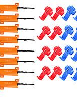 Недорогие -Нагрузочные резисторы 50 Вт 6 Ом исправить светодиодные лампы быстро гипер вспышка поворотник мигает код ошибки пакет 8 шт.