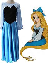 Недорогие -Вдохновлен The Little Mermaid Косплей Аниме Косплэй костюмы Японский Платья Платье Назначение Жен.