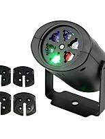 Недорогие -1 комплект ywxlight&рег; 4 карты RGB светодиодные снежинка свет этапа открытый водонепроницаемый шаблон свет проектор свет газон свет рождественский свет