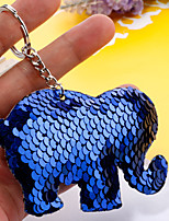 Недорогие -Брелок Слон корейский Мода Цветной Модные кольца Бижутерия Золотой / Серебряный / Красный Назначение Повседневные