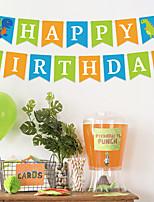 Недорогие -Бумажный декор Чистая бумага 1 комплект День рождения