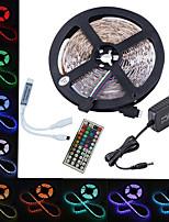 Недорогие -светодиодные фонари 12v smd 5050 rgb светодиодные ленты светодиодные ленты разноцветные с дистанционным управлением с 44 клавишами