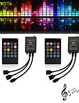Недорогие -2шт 12 В с дистанционным управлением / лампочка аксессуар / пластиковый свет аксессуар пластик&усилитель; Металлический RGB контроллер для RGB светодиодные полосы света / 2835 5050 световые полосы