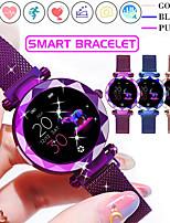 Недорогие -Смарт Часы Цифровой Современный Спортивные 30 m Защита от влаги Пульсомер Bluetooth Цифровой На каждый день На открытом воздухе - Лиловый Золотой Синий