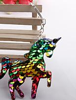 Недорогие -Брелок Лошадь Голова лошади корейский Мода Цветной Модные кольца Бижутерия Радужный / Белый / Зеленый Назначение Повседневные
