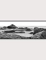 Недорогие -Отпечаток в раме Набор в раме - Пейзаж Полистирен Фотографии Предметы искусства