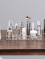 Недорогие -Место хранения организация Косметологический макияж пластик Прямоугольная форма Творчество