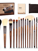 Недорогие -профессиональный Кисти для макияжа 15шт Очаровательный Мягкость Новый дизайн удобный Деревянные / бамбуковые за Косметическая кисточка