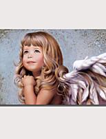 Недорогие -С картинкой Роликовые холсты Отпечатки на холсте - Люди Религиозная тематика Modern Репродукции