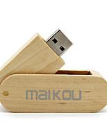 Недорогие -maikou деревянная флешка usb3.0 вращающаяся флешка u диск 8gb
