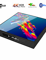 Недорогие -a95x r3 rk3318 9.0 Android TV Box 4 ГБ оперативной памяти 32 ГБ 4 К 2,4 ГБ / 5 г Wi-Fi USB3,0 Google Netflix YouTube Media Player установить приставку