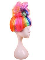 Недорогие -Косплей Эльф Косплэй парики Жен. 12 дюймовый Синтетика Разноцветный Красный Аниме