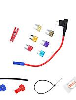 Недорогие -12v автомобильный адаптер цепи предохранителя лезвие держатель предохранителя gps навигатор прикуриватель добавил наборы инструментов modelsa1936