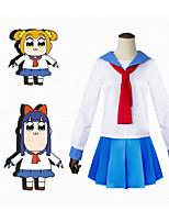 Недорогие -Вдохновлен POP TEAM EPIC Куки-аниме Аниме Косплэй костюмы Японский Косплей Костюмы Платье Назначение Жен.