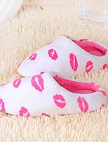 Недорогие -Женские тапочки / Тапочки для девочек Тапочки для гостей / Домашние тапки На каждый день Искусственный мех Один цвет Обувь