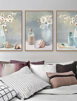 Недорогие -Масляная картина в раме - Натюрморт Продукты питания Акрил Масляные картины Предметы искусства