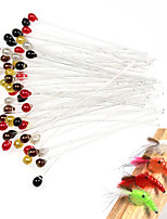 Недорогие -20 pcs Мухи Мухи Тонущие Bass Форель щука Ловля нахлыстом Пресноводная рыбалка Обычная рыбалка Жесткие пластиковые
